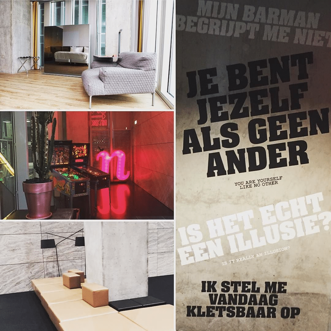 Building Leisure Building Event @Nhow Rotterdam. #hotel #hospitality #remkoolhaas #interiordesign #architecture #inspiration #dehotelpartners