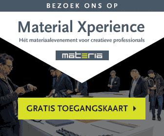 """Gratis Toegangskaart """"Material Experience"""""""