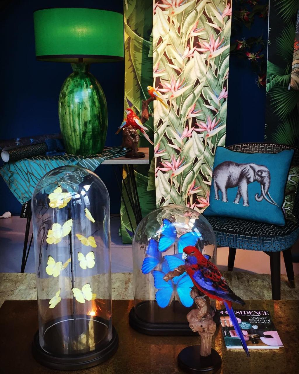 #dehotelpartners #inspiration #junglefeverfriday #hoteldesign #hospitality #colorful #interior