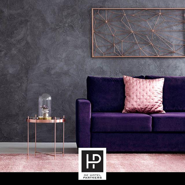 Het Kleureninstituut Pantone Heeft Ultra Violet Bestempeld Tot De Kleur Van 2018. Met Welke Kleuren Zou Jij De Kleur Van 2018 Combineren? #UltraViolet #Pantone #interieurhotel #dehotelpartners